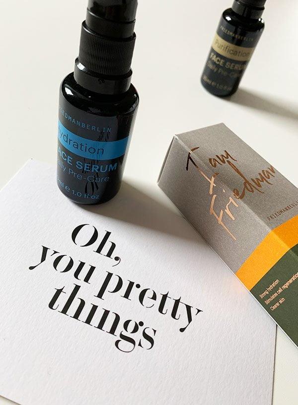 Erfahrungsbericht und Brand Love: FRIEDMANBERLIN Naturkosmetik für Männer (in der Schweiz bei Oh, You Pretty Things erhältlich) – Hey Pretty Beauty Blog