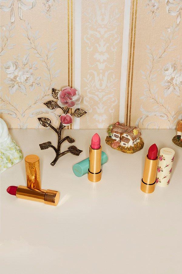 Gucci Makeup kommt: Ankündigung der Lippenstiftkollektion (Ende Mai 2019 erhältlich, in der Schweiz Launch im September 2019), Image Copyright: Coty/Gucci
