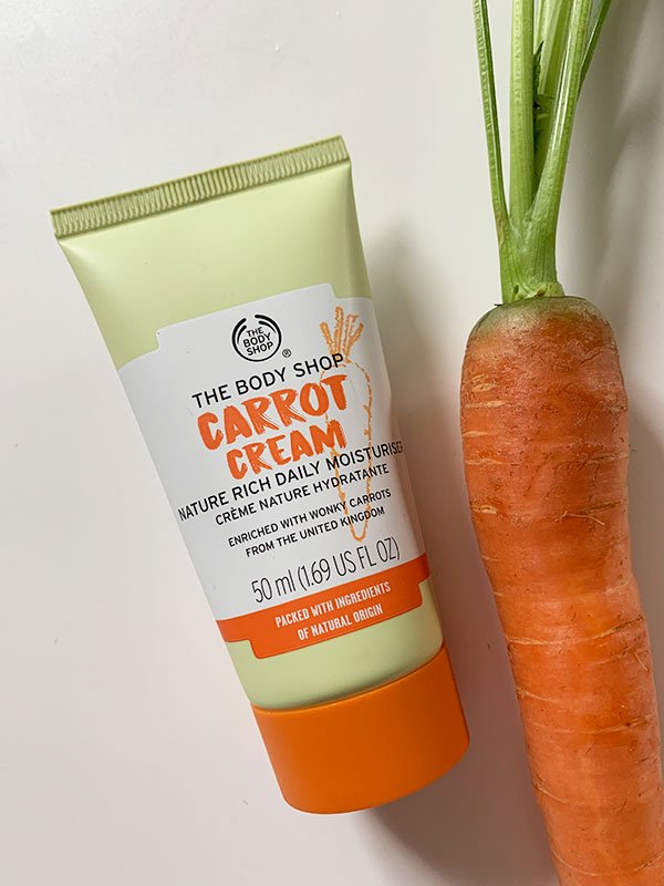 The Body Shop Carrot Cream Nature Rich Daily Moisturiser