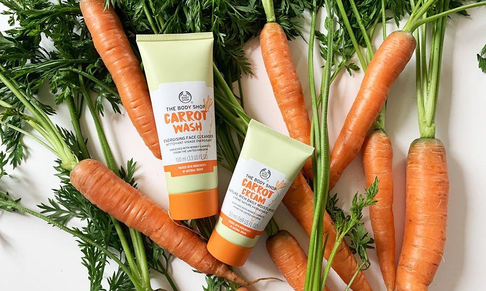 SO FIES! The Body Shop wollte etwas gegen diese Verschwendung, und für die armen «wonky carrots» tun – und hat darum die Carrot-Linie zurückgebracht!