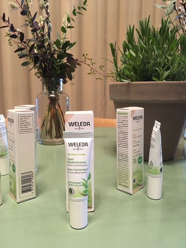 Launch-Event der Weleda Naturally Clear Pflegelinie gegen unreine Haut (bei Bebek in Zürich), Hey Pretty Beauty Blog Review