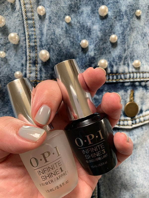 OPI Infinite Shine Primer + Gloss Prostay Duo Pack (Hey Pretty Beauty Blog Review der neuen Soft Shades Collection 2019)