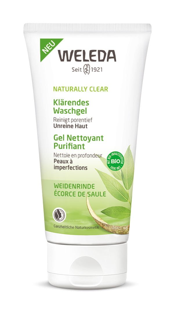 Weleda Naturally Clear Klärendes Waschgel (PR Image) – Review auf Hey Pretty Beauty Blog