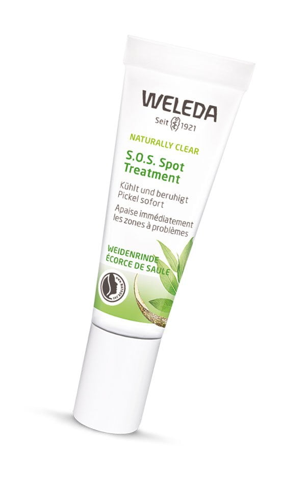 Weleda Naturally Clear S.O.S. Spot Treatment (PR Image) – Review auf Hey Pretty Beauty Blog