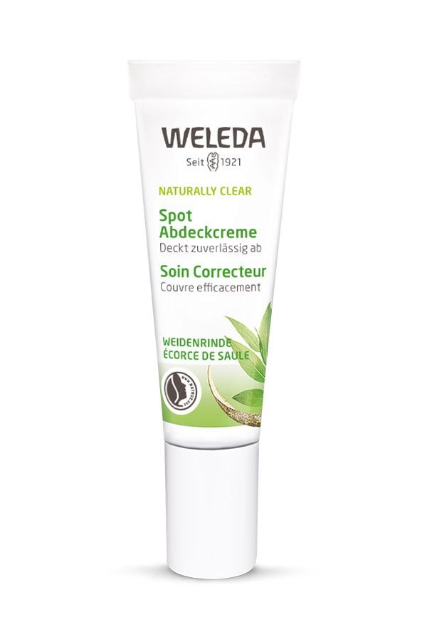 Weleda Naturally Clear Spot Abdeckcreme (PR Image) – Review auf Hey Pretty Beauty Blog