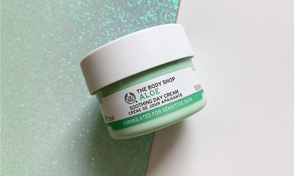 Die Must-Haves von The Body Shop auf Hey Pretty: Aloe Soothing Day Cream (Werbung)