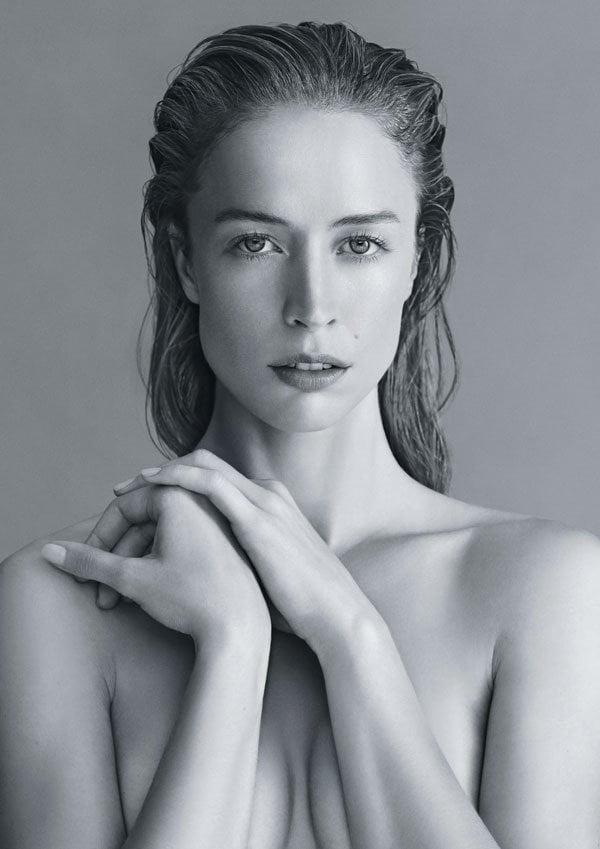PR Visual für Narciso Rodriguez NARCISO Rouge Eau de Toilette (2019) – Model Raquel Zimmermann