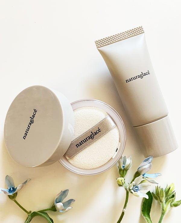 Naturaglacé Starter Kit 01 (All-in-One Make-Up Cream und Loose Powder), japanische Naturkosmetik jetzt auch in der Schweiz erhältlich