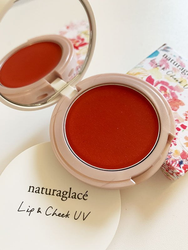 Naturaglacé Lip & Cheek UV Balm in Sunny Orange (Review auf Hey Pretty)