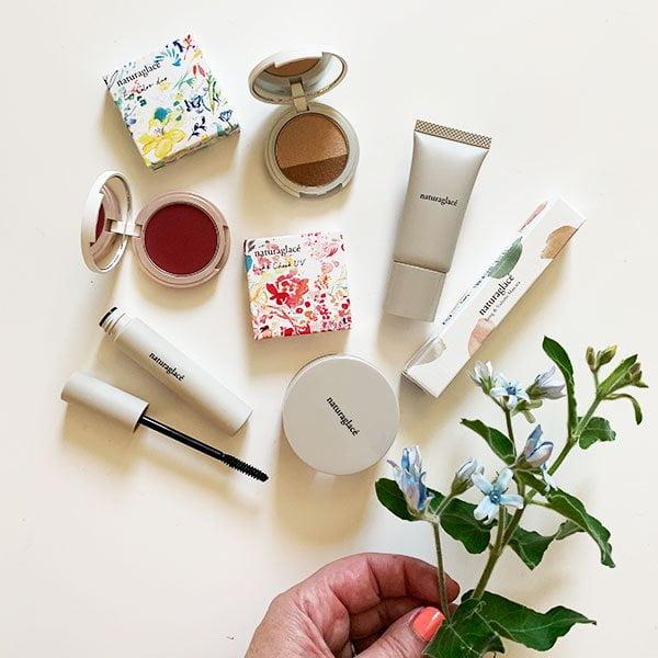 Sommer Make-Up Look zu gewinnen auf Hey Pretty Beauty Blog: Naturaglacé Naturkosmetik aus Japan (Erfahrungsbericht und Gewinnspiel)