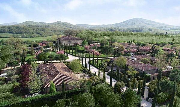 Borgo Santo Pietro: Hotel, Restaurant und Produktionsstätte von Seed To Skin, der Naturkosmetikmarke aus der Toskana (PR Image), Review auf Hey Pretty Beauty Blog
