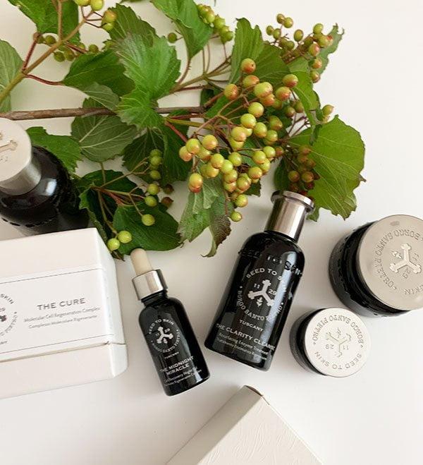 Luxuriöse Naturkosmetik aus der Toskana: Seed to Skin by Borgo Santo Pietro (bei Spitzenhaus Zürich erhältlich): Brand Love auf Hey Pretty