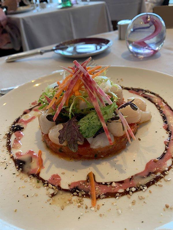 Essen im Restaurant Le Cap Horn im Grand Hotel Les Thermes Marins de Saint-Malo (Hey Pretty Review)