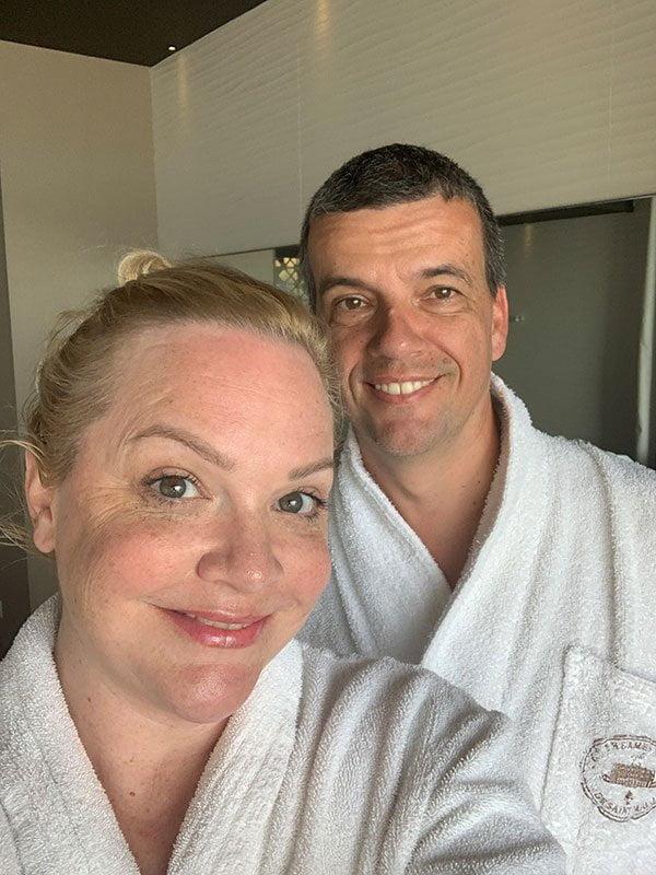 Massage und Bad im Private Spa der Thermes Marins de Saint-Malo
