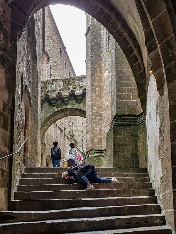 Le Mont-Saint-Michel in der Normandie (Tagesausflug von Saint-Malo), Hey Pretty Beauty Blog Review