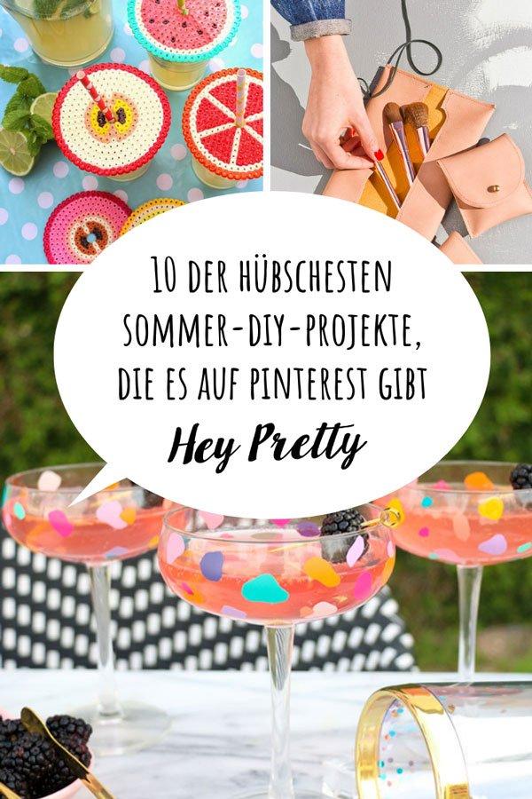 10 tolle Sommer-DIY-Projekte auf Pinterest, gefunden und zusammengetragen auf Hey Pretty Beauty Blog