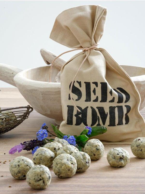 Coole DIY-Projekte auf Pinterest für den Sommer: Seed Bombs selbermachen von mxliving (Hey Pretty Roundup)