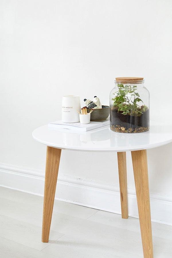 Coole Sommer DIY-Projekte auf Pinterest: Begrüntes Terrarium im Glas selber machen von Burkatron (Hey Pretty)