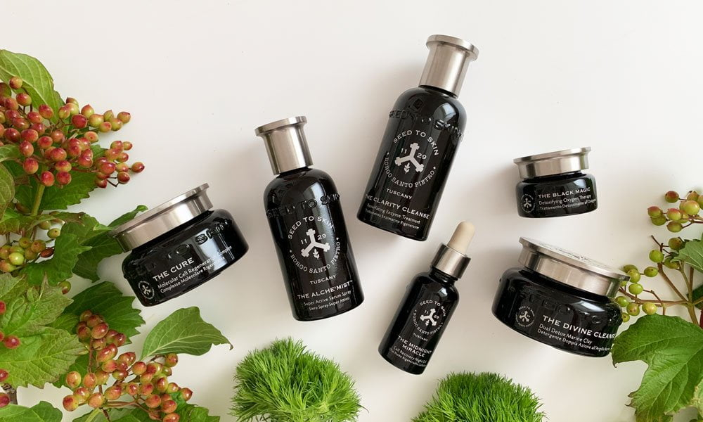Seed to Skin Organic Skincare from Italy (Review on Hey Pretty)