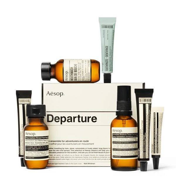 Aesop Departure Travel Kit (Die besten Beauty-Reisegrössen 2019 auf Hey Pretty Beauty Blog)