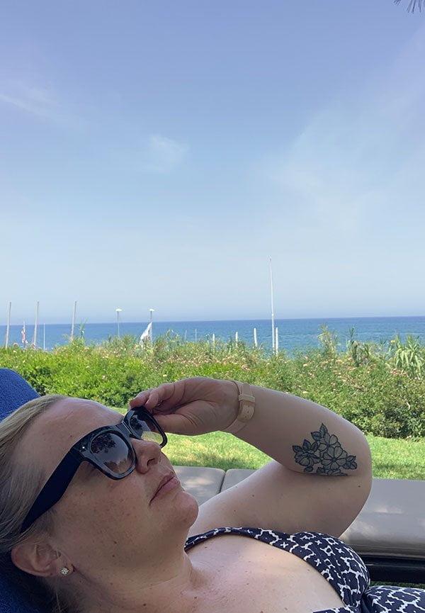 Beach Club im Anassa Resort Zypern (Hey Pretty Beauty Blog Review)