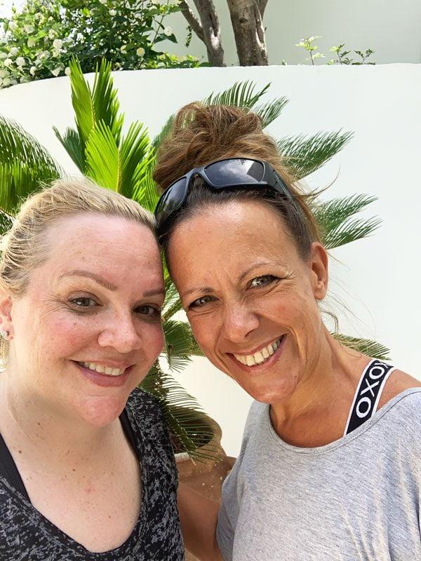 Yoga class mit Shani im Anassa Zypern (Hey Pretty)