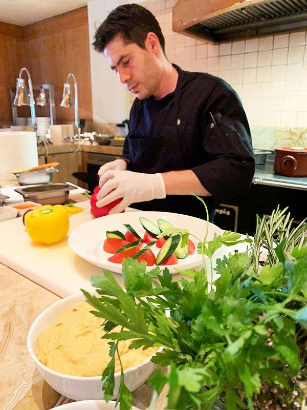 Cooking Class mit Tom im Anassa Zypern
