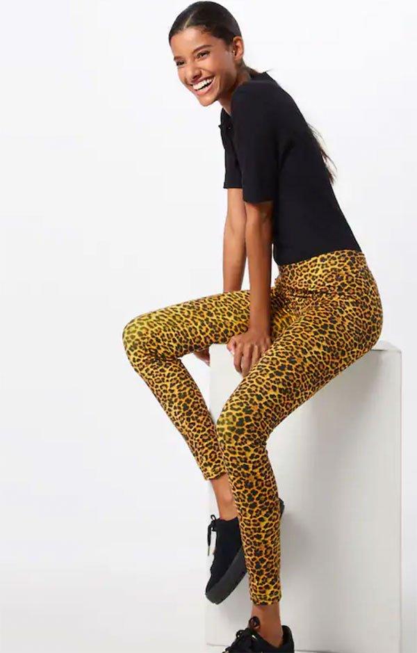 Urban Classics Leopard Print Leggings (About You) – Hey Pretty Fashion Flash