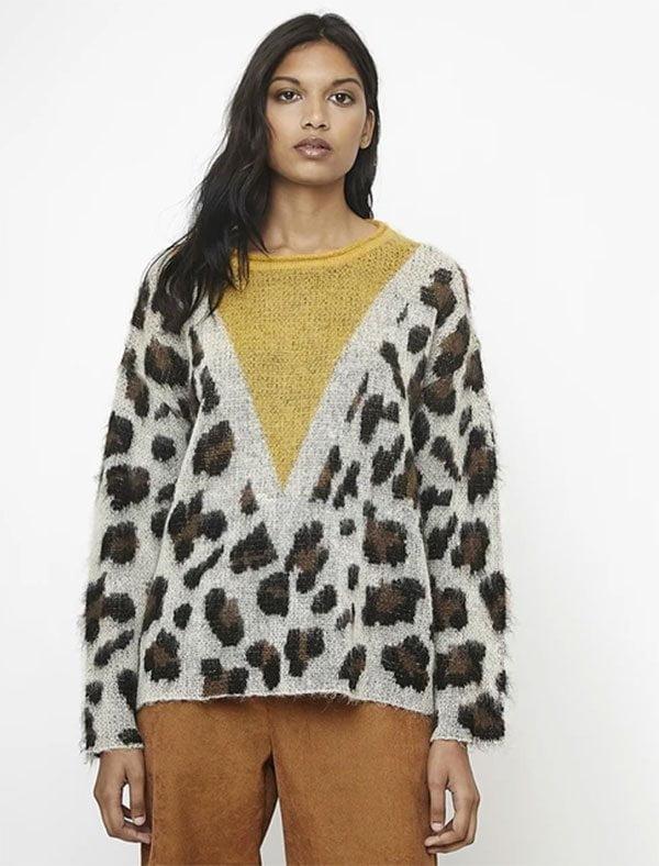 Hey Pretty Fashion Flash: Animal Prints (Compania Fantastica Leoparden-Print-Pullover bei La Redoute)