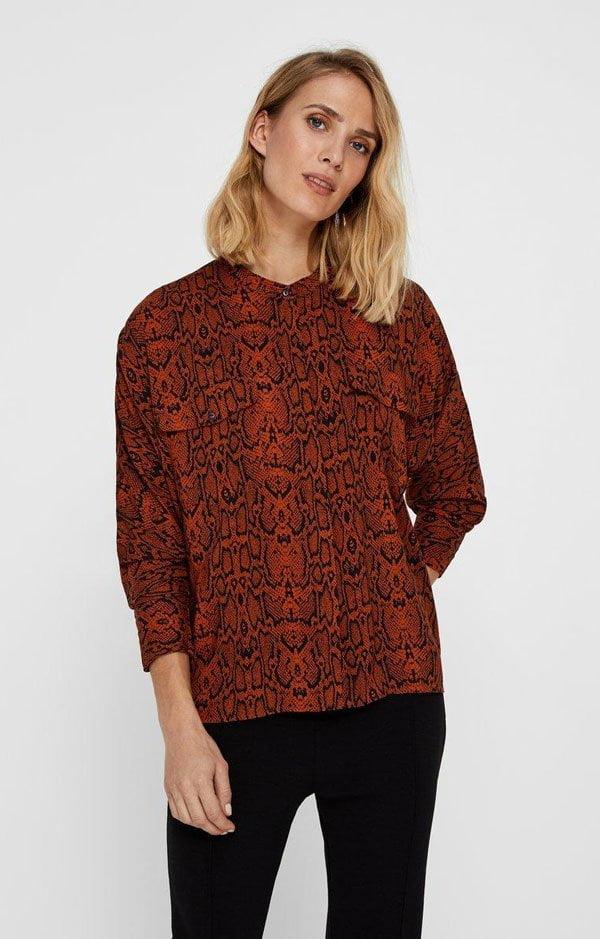 Hey Pretty Fashion Flash: Animal Prints – YAS Shirt mit Leopardendruck von Jelmoli Versand