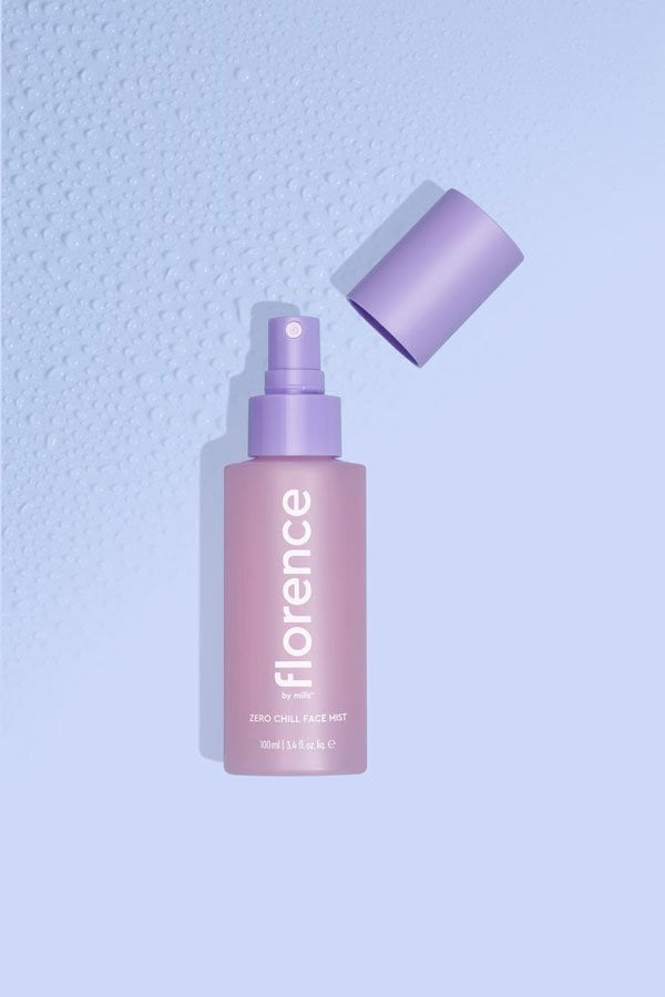 Florence by Mills Zero Chill Face Mist (PR image), Preview auf Hey Pretty Beauty Blog – Millie Bobby Brown's Beautylinie ist da!