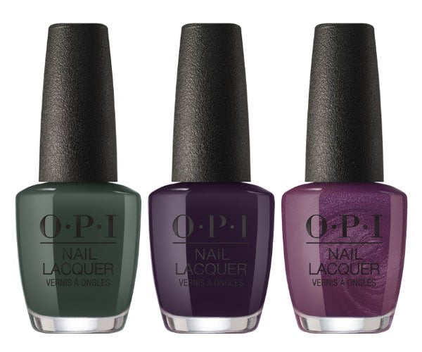 Things I've Seen in Aber-green, Good Girls Gone Plaid und Boys Be Thistle-ing at Me (OPI Scotland Fall Winter 2019 Collection) Nail Polish Review on Hey Pretty