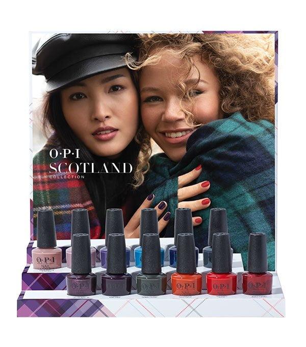 Scotland by OPI (Fall Winter 2019 Collection), Verkaufsdisplay – Review und Swatches auf Hey Pretty