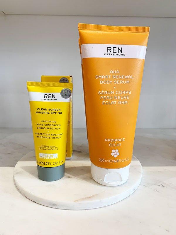 REN Skincare (bei Oh My Cream! in Paris) –Review auf Hey Pretty