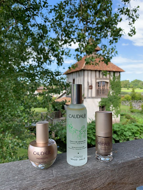 Caudalie Produkte «premier cru« und Eau de Beauté, shot at Les Sources de Caudalie in Bordeaux (Hey Pretty Beauty Blog)