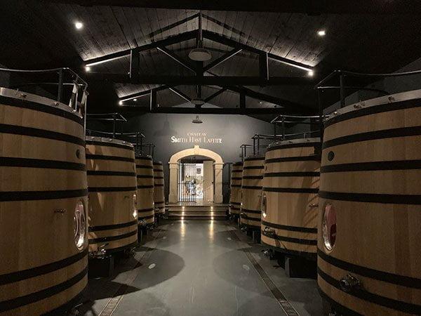 Weinproduktion bei Chateau Smith Haut Lafitte (Hey Pretty)