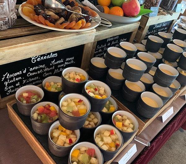 Frühstück im Hotel Les Sources de Caudalie in Bordeaux (Hey Pretty Beauty Blog)