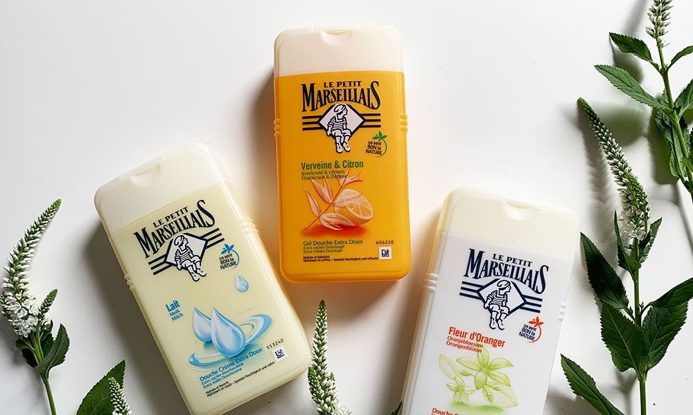 Gewinnspiel auf Hey Pretty: Meine drei Lieblings-Duschcremen von Le Petit Marseillais, gratis abzuräumen: Orangenblüte, Milch und Verveine & Citron
