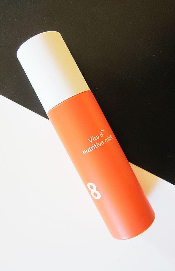Die koreanische 7 Skins Methode, erklärt: E Nature Vita 8 Nutritive Mist als eine tolle Schicht (Hey Pretty Beauty Blog Erfahrungsbericht)