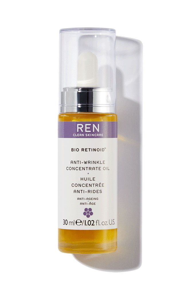 REN Bio-Retinoid Anti-Wrinkle Concentrate Oil (Hey Pretty Beauty-ABC: Bakuchiol und was du darüber wissen musst)