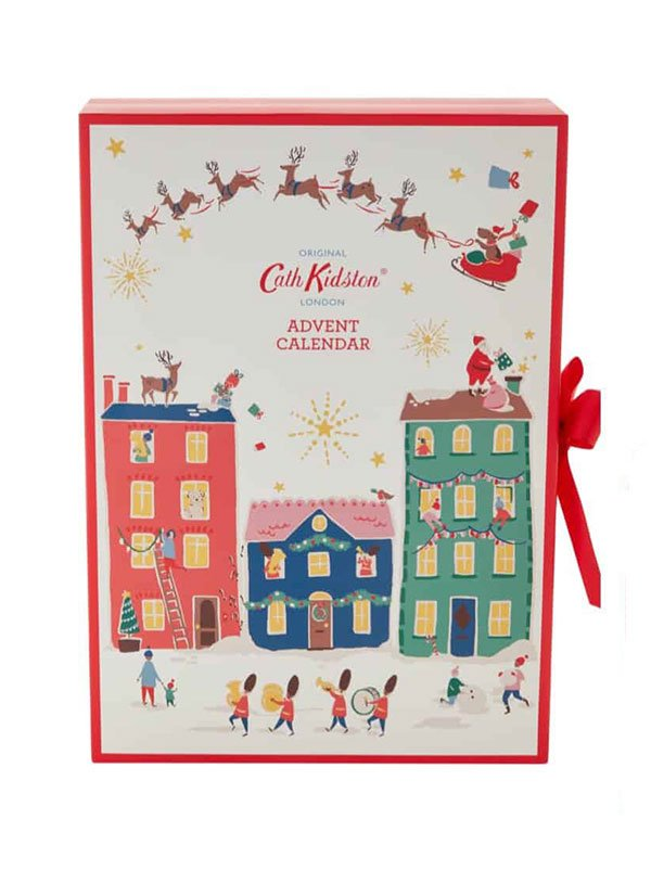 Cath Kidston Christmas Village Advent Calendar 2019 (die ultimative Übersicht mit den besten Beauty Adventskalendern 2019 auf Hey Pretty)