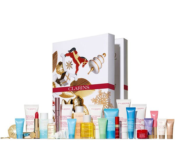 Clarins Adventskalender 2019 (Hey Pretty Beauty Blog – die besten Beauty-Adventskalender der Schweiz 2019)
