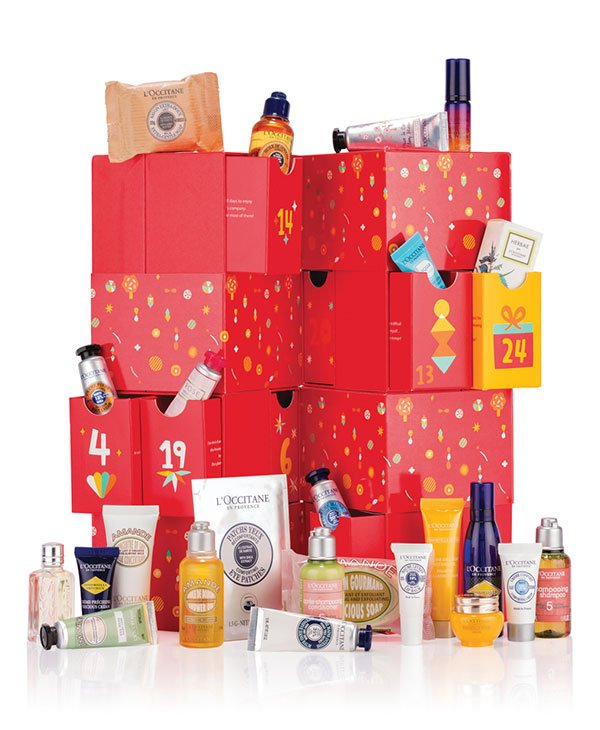 L'Occitane Adventskalender 2019 «Premium» (Die besten Beauty-Adventskalender 2019 auf Hey Pretty Beauty Blog)