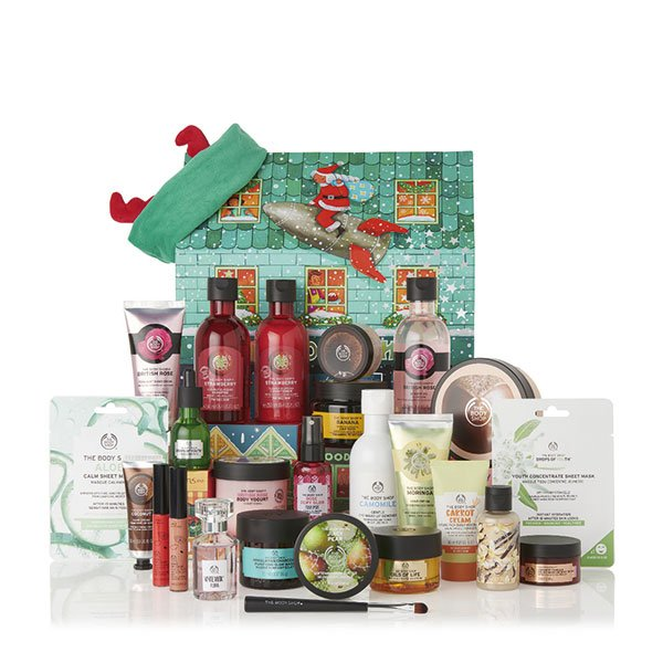 The Body Shop Ultimate Adventskalender 2019 (die ultimative Übersicht der Beauty-Adventskalender 2019 auf Hey Pretty Beauty Blog)
