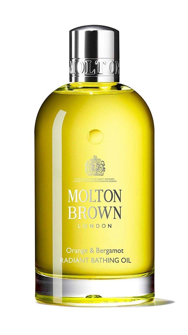 8 schöne Badezusätze für Wannen-Wonne: Molton Brown Orange & Bergamot Radiant Bath Oil – Hey Pretty Beauty Blog