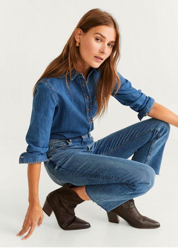 Braune Cowboy Boots von Mango (Hey Pretty Fashion Flash: Die besten Stiefel 2019)