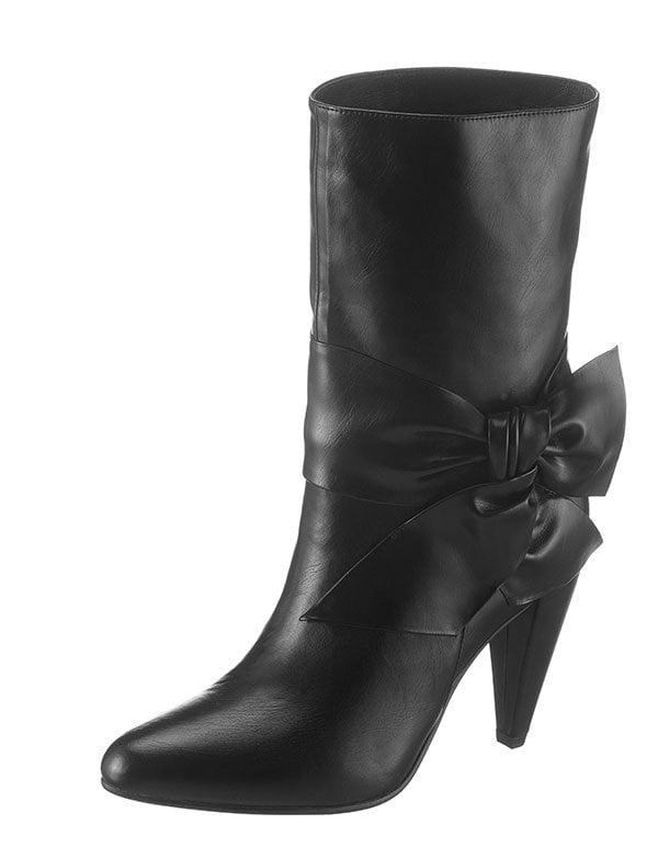 Jeffrey Campbell Stiefel mit Schleife (Hey Pretty Fashion Flash: Die besten Boots 2019), erhältlich bei Ackermann.ch