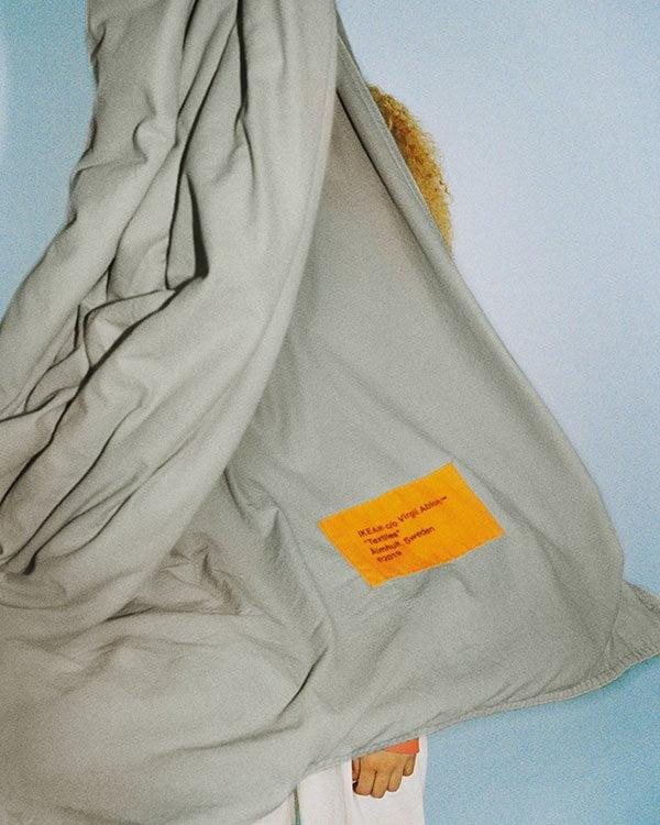 MARKERAD Bettwäsche – Teil der MARKERAD Collection von Offwhite Designer Virgil Abloh für IKEA, ab November 2019 im Handel