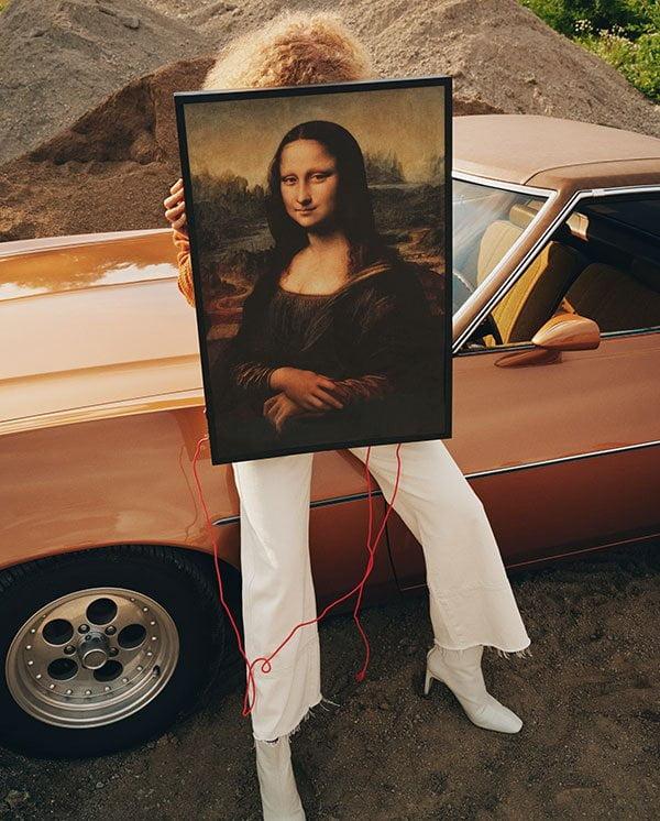 Virgil Abloh für IKEA MARKERAD Mona Lisa Wandbild mit Hintergrundbeleuchtung, ab November 2019 im Handel – Preview auf Hey Pretty