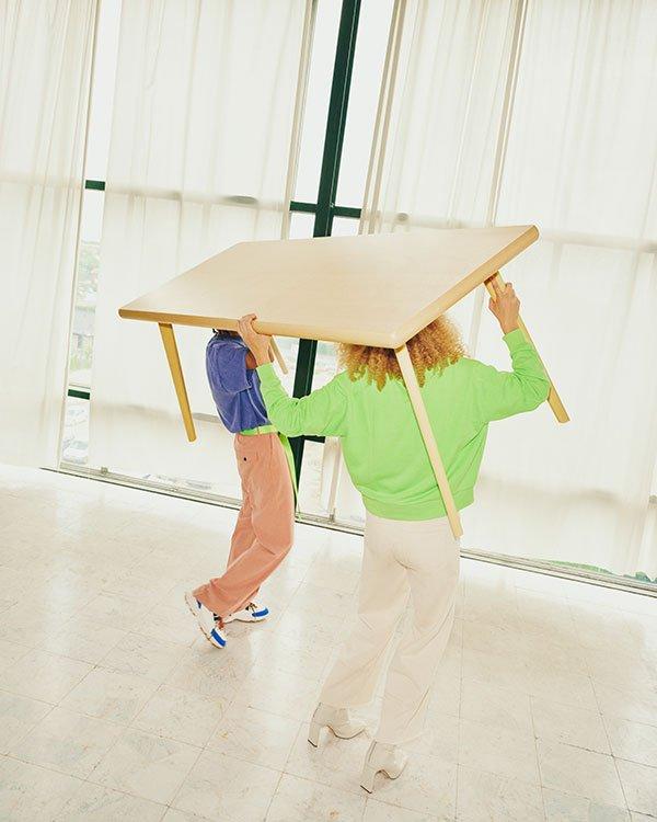 MARKERAD Tisch – Teil der MARKERAD Collection von Offwhite Designer Virgil Abloh für IKEA, ab November 2019 im Handel